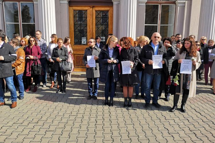 Judecătorii clujeni merg să protesteze la Bruxelles - VIDEO