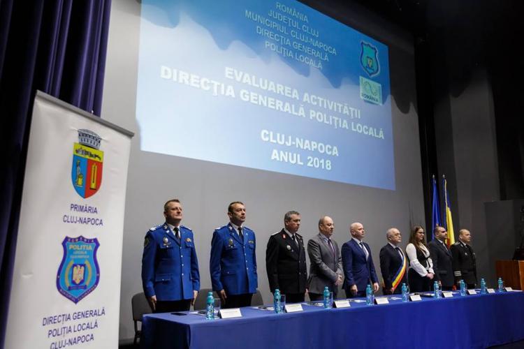 Poliția Locală Cluj-Napoca și-a prezentat raportul de activitate. Aproape 6.300 de mașini au fost ridicate în 2018
