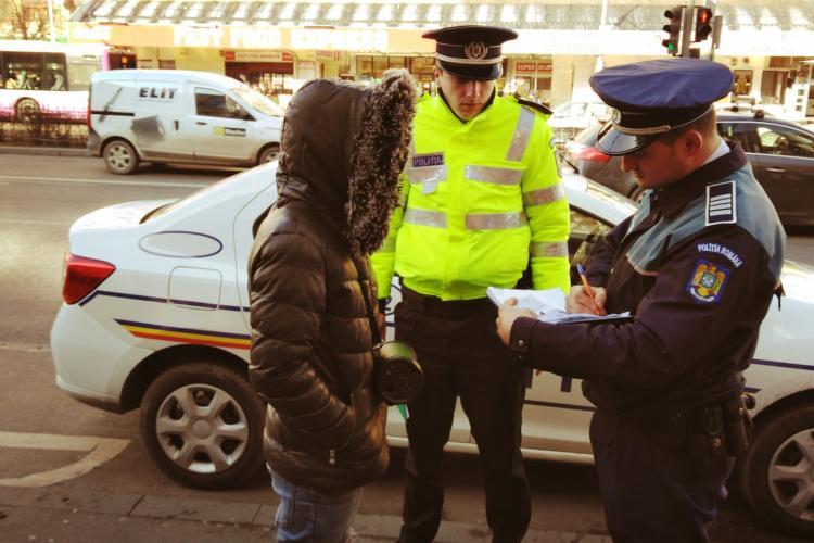 Razie de amploare pe străzile Clujului. Peste 500 de persoane și 300 mașini verificate într-o zi FOTO