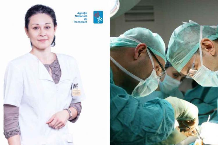 Medicul clujean Anca Mureșan schimbat de la șefia Agentiei Nationale de Transplant. Dr Radu Zamfir îi ia locul