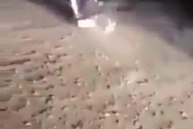 Cluj - O BRUTĂ a bătut o tânără cu bestialitate lângă Dej. A lovit-o și târât-o de păr pe drum - VIDEO