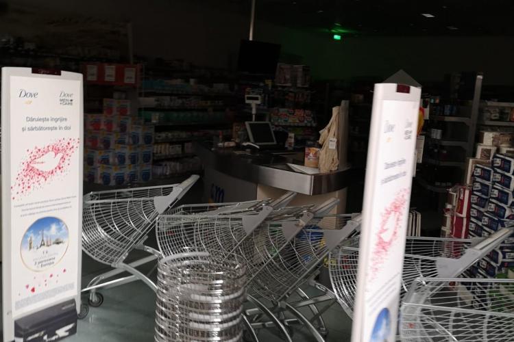 Jumătate din Vivo Cluj a rămas fără curent electric - FOTO