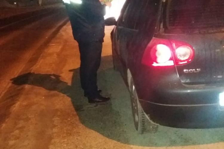 Razie de noapte în trafic, pe mai multe străzi din Cluj-Napoca. Câte amenzi au dat polițiștii FOTO