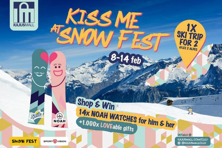 Iulius Mall Cluj te trimite într-o vacanță la ski, în Franța, la Snow Fest