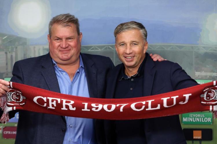 Dan Petrescu revine la CFR Cluj