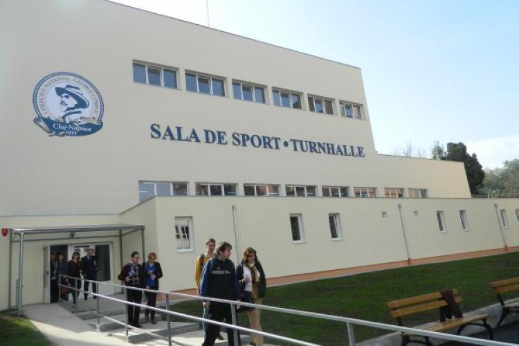 Cea mai modernă sală de sport din Cluj e închisă de 2 luni. S-a găsit un defect de construcție - FOTO