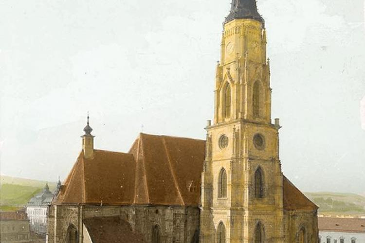 Biserica Sfântul Mihail la sfârșitul secolului XIX - FOTO document