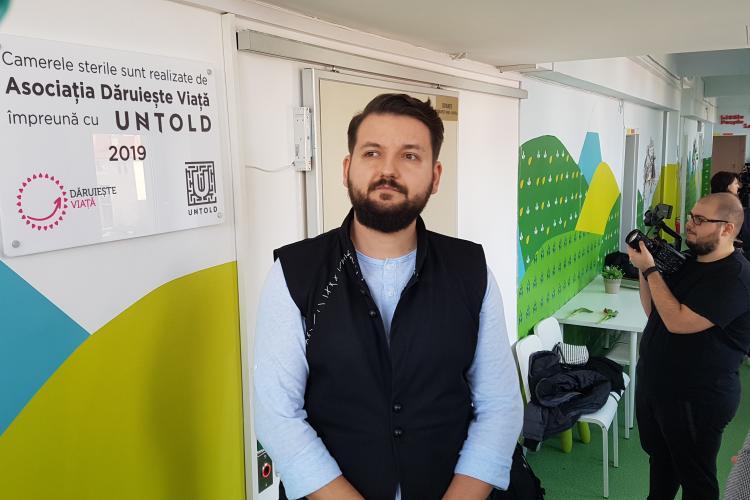 Untold a amenjat la Cluj-Napoca două camere sterile pentru copiii bolnavi de cancer - VIDEEO