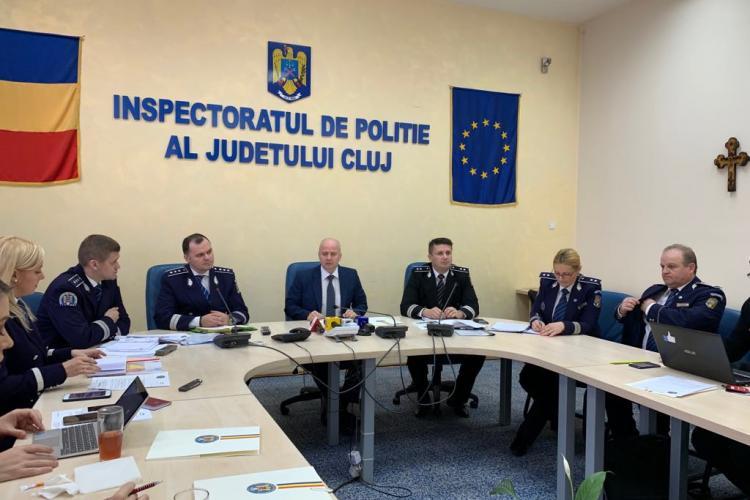Bilanțul activității IPJ Cluj în 2018: Zeci de mii de intervenții într-un singur an