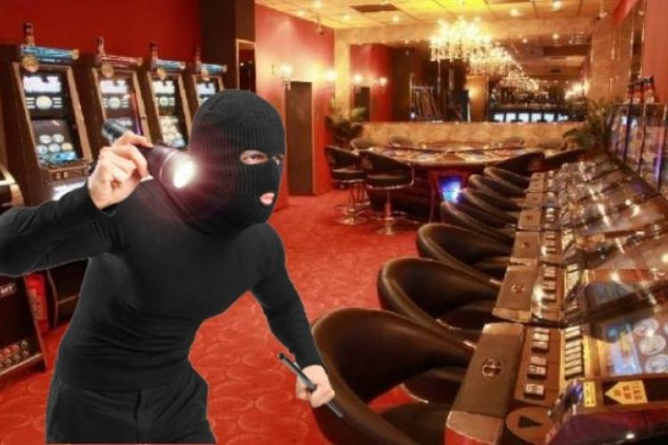 Jaf la o sală de jocuri din Cluj-Napoca. Poliția l-a arestat pe bărbatul mascat - EXCLUSIV