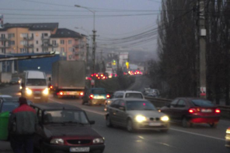 Tensiuni în Baciu din cauza traficului: Să îi ardem la vot