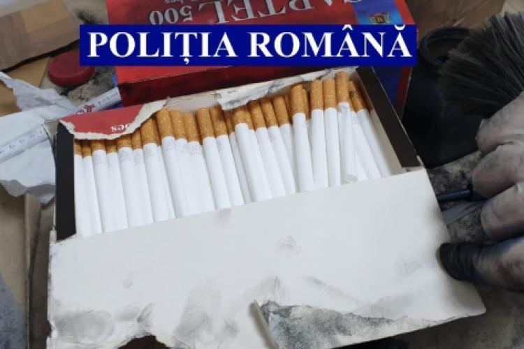 Polițiștii controlează strict coletele trimise prin corespondență. Au confiscat peste 1,6 tone de tutun FOTO/VIDEO