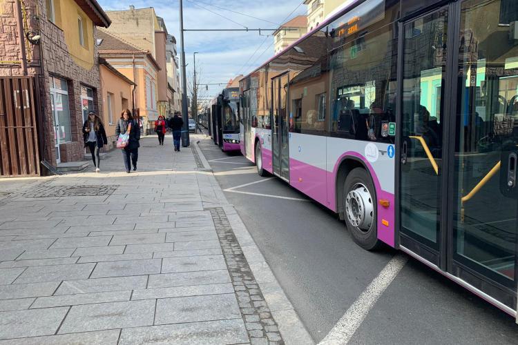 Haos în trafic la Cluj, în Mănăstur