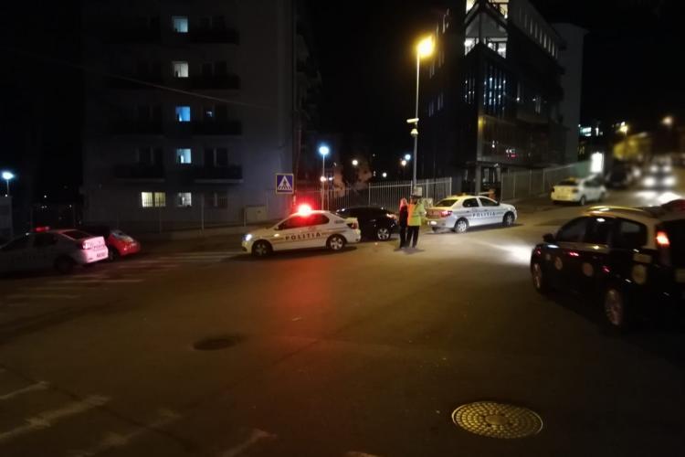 Razie de noapte la Cluj-Napoca! Câte amenzi au dat polițiștii FOTO