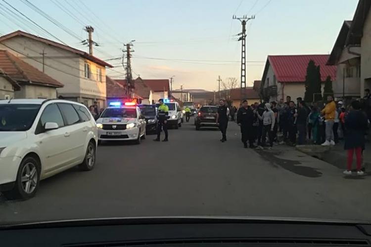 Bărbat arestat preventiv în urma accidentului lăsat cu scandal, de la colonia de romi din Florești. A amenințat polițiștii