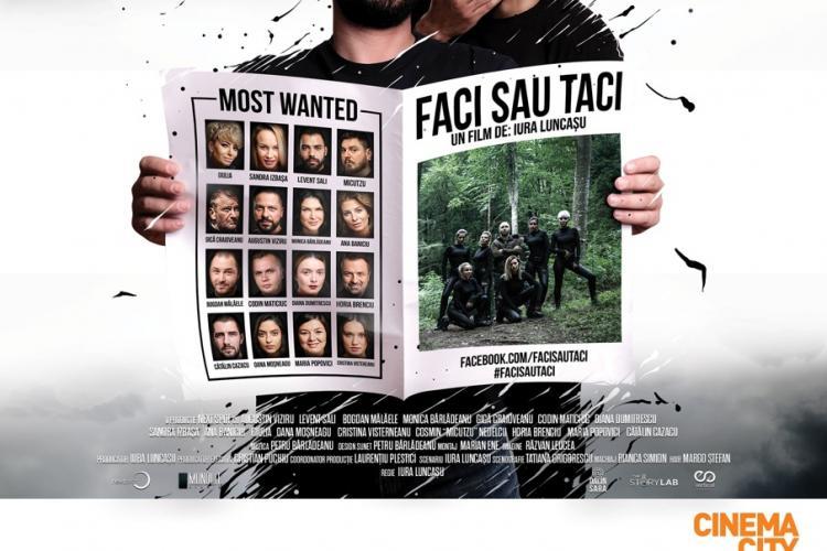 """Echipa  comediei ,,Faci sau Taci"""" îşi dă întâlnire cu publicul din Cluj  pe 17 martie"""