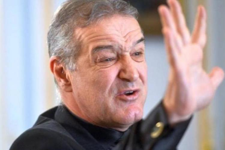 Gigi Becali vrea arbitri străini la meciul cu CFR Cluj