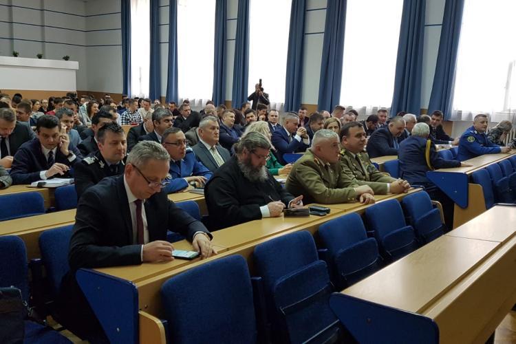 Poliția Cluj susține o conferință pe tema valori integrate în sistemul judiciar european - FOTO
