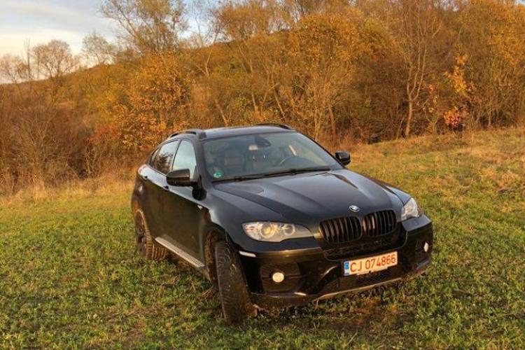 A fost furat un BMW X6 din zona hotel Paradis - FOTO
