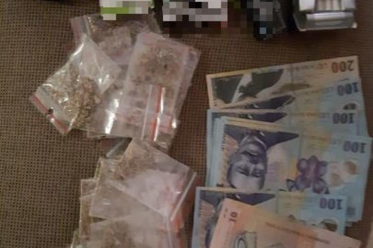 Traficant de droguri, arestat la Cluj! Ce au găsit polițiștii în apartamentul său FOTO