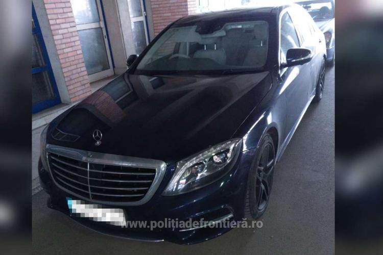 Clujean prins la vamă cu un Mercedes de 60.000 de euro, furat din Marea Britanie VIDEO
