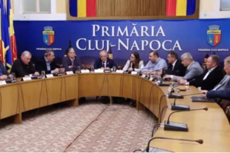 Clujul dă o lecție întregii ȚĂRI! S-a semnat Alianța Clujului pentru metrou și tren metropolitan - VIDEO
