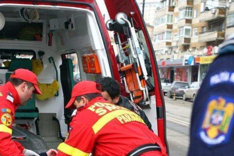 Cluj-Napoca: Femeie căzută de la etaj pe strada Fântânele, în Grigorescu
