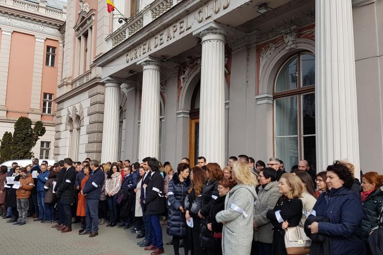 Protestul magistraților atacat din interior de 30 de preşedinţi şi secunzii lor din tribunale
