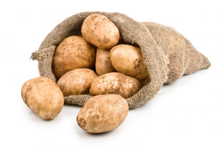 Cartofii s-au scumpit cu 21%