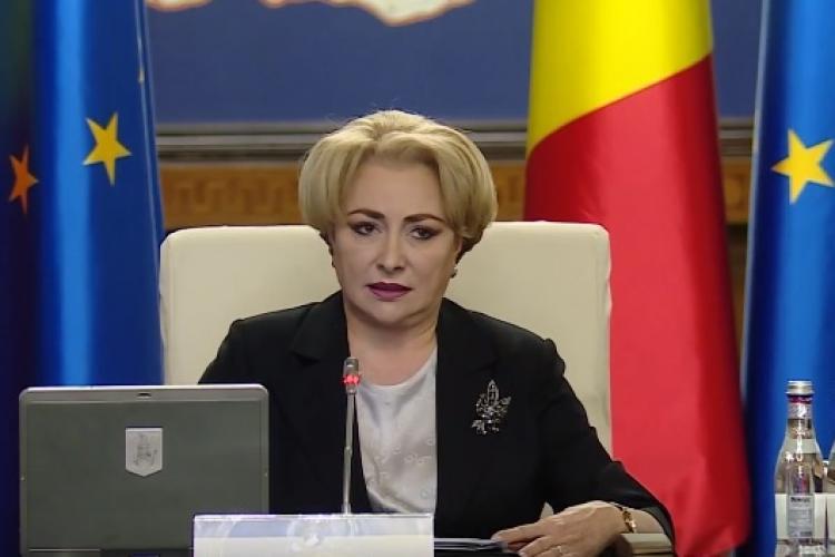 """Viorica Dăncilă susține că """"guvernările PSD"""" au construit 500 km de autostradă"""