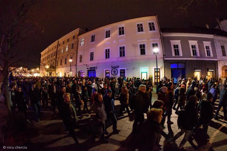 Protest la Cluj împotriva OUG 7. Când se iese în stradă