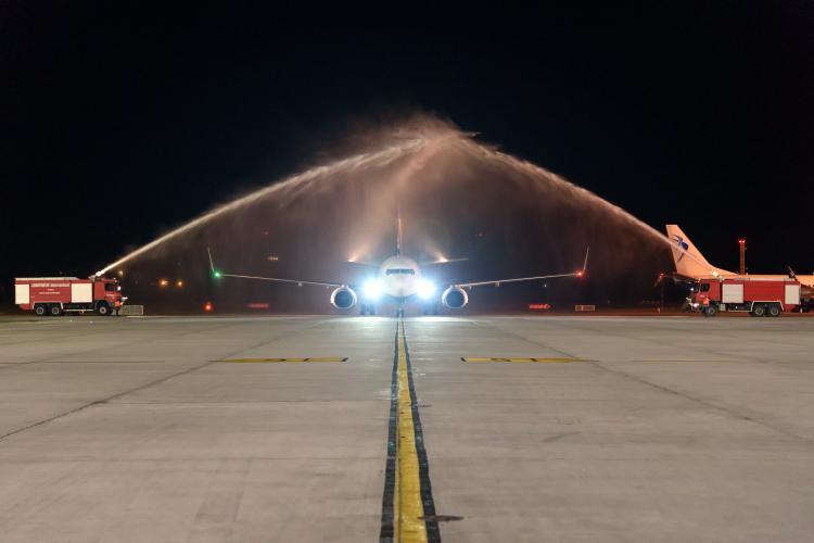 S-au inaugurat primele zboruri RyanAir de pe Aeroportul Cluj-Napoca FOTO
