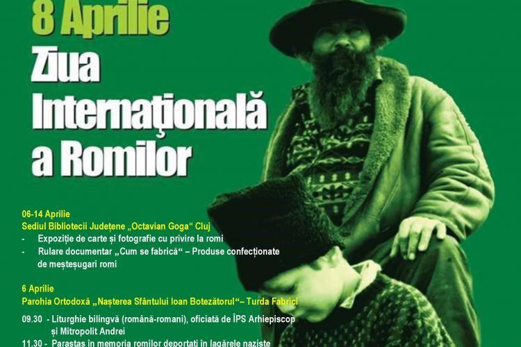 Manifestări speciale la Cluj, cu ocazia Zilei Internaționale a Romilor