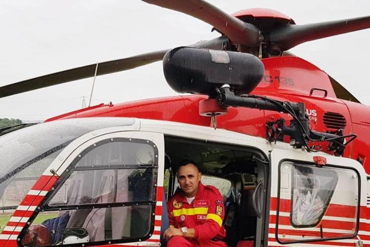 Un pompier aflat în timpul liber a salvat o viață în timp ce se întrepta spre meciul României, de la Cluj