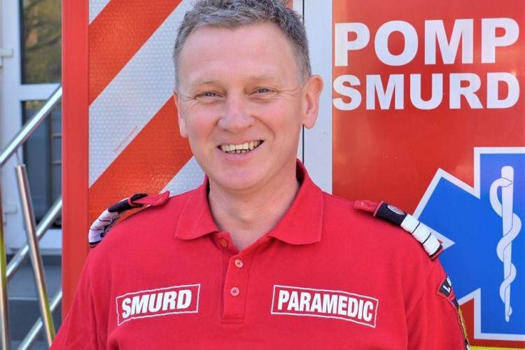 Povestea paramedicului clujean care a oferit primul ajutor în accidentul de pe Muncii, chiar dacă era în timpul liber