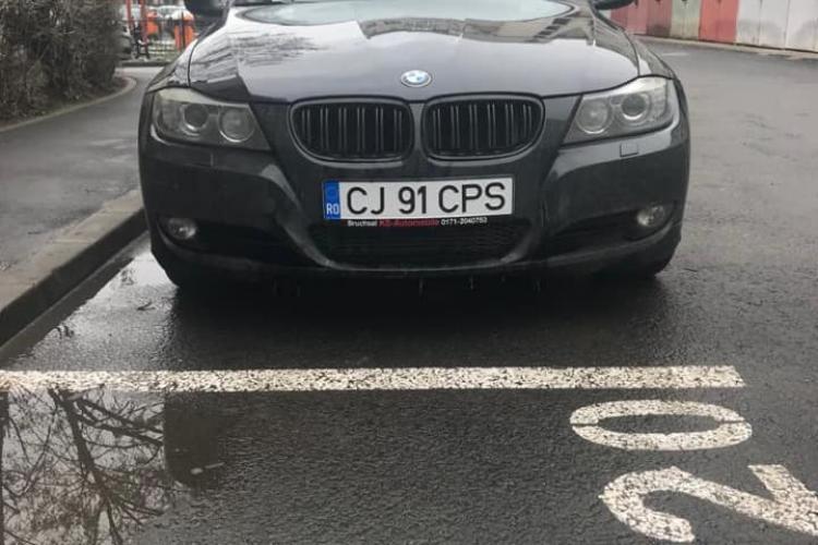 Alt BMW furat. De această dată din Mărăști - FOTO