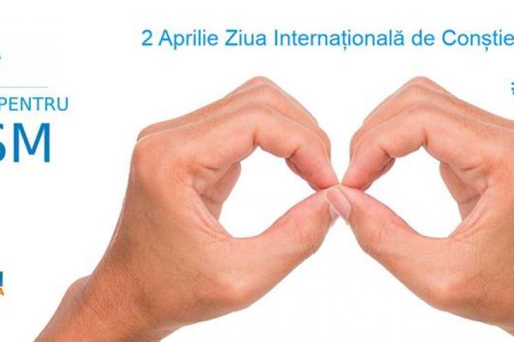 Clădiri iluminate în albastru și spectacole la Cluj, de Ziua Internațională de Conștientizare a Autismului