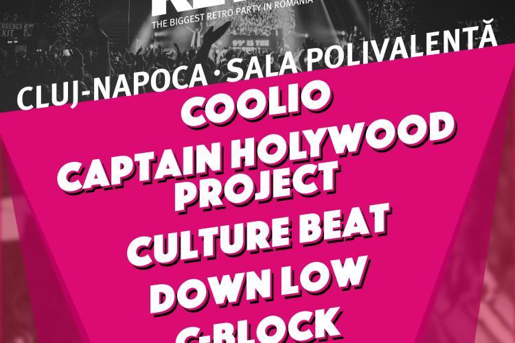 Cea de-a șasea ediție a We Love Retro Cluj-Napoca ajunge la un număr record de artiști