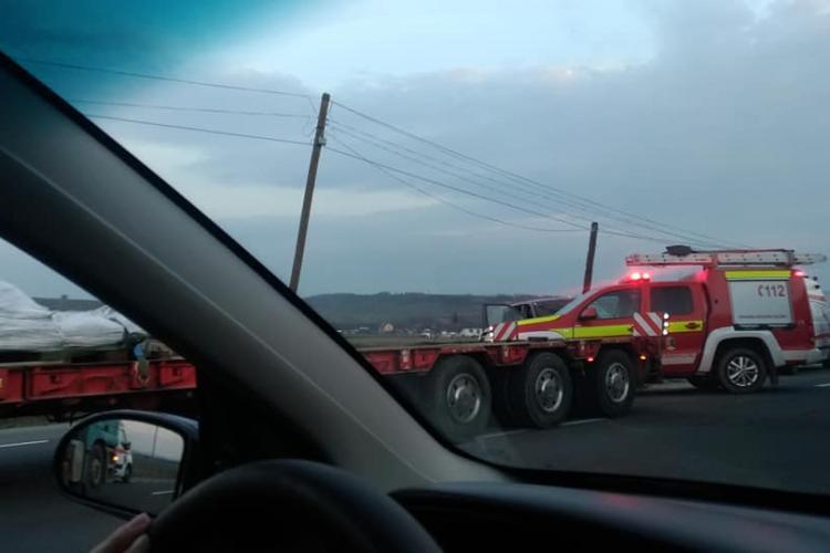 CLUJ: Patru persoane rănite din cauza unui șofer neatent FOTO
