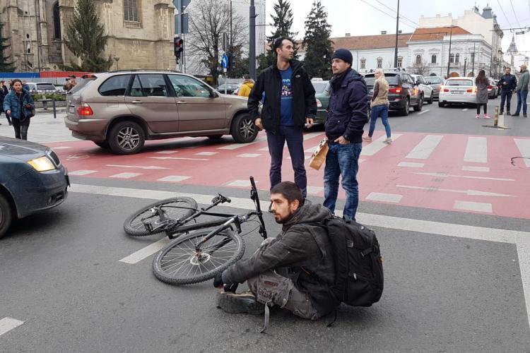 Clujul, blocat în timpul protestului #Șîeu FOTO/VIDEO