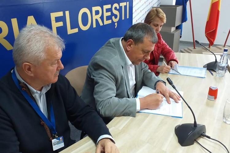 La Florești s-a semnat contractul de modernizare a străzii Eroilor - FOTO