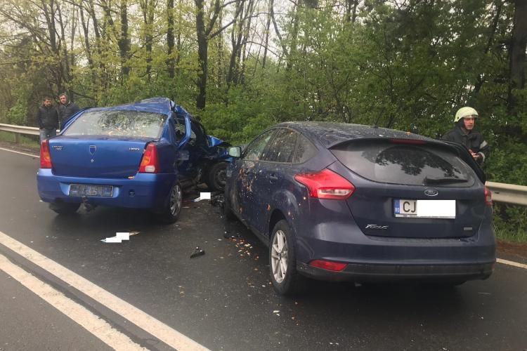 Accident pe Calea Turzii, la ieșire din Feleacu spre Cluj-Napoca. O victimă a murit - FOTO