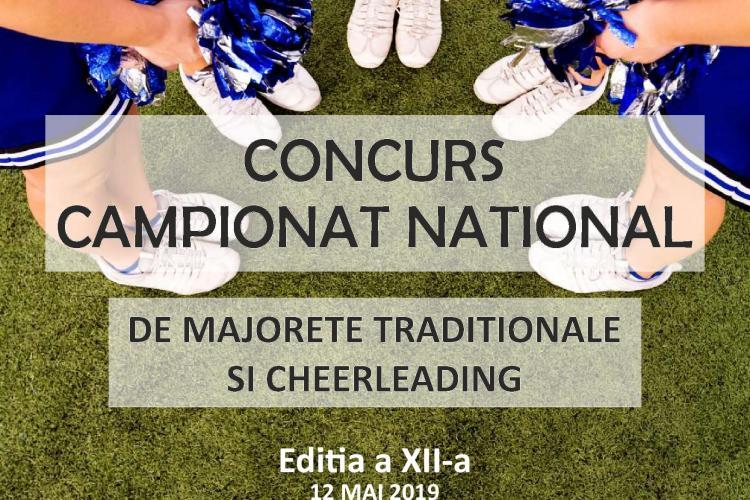 Campionatul Național de Majorete și Cheerleading are loc la Cluj, în luna mai