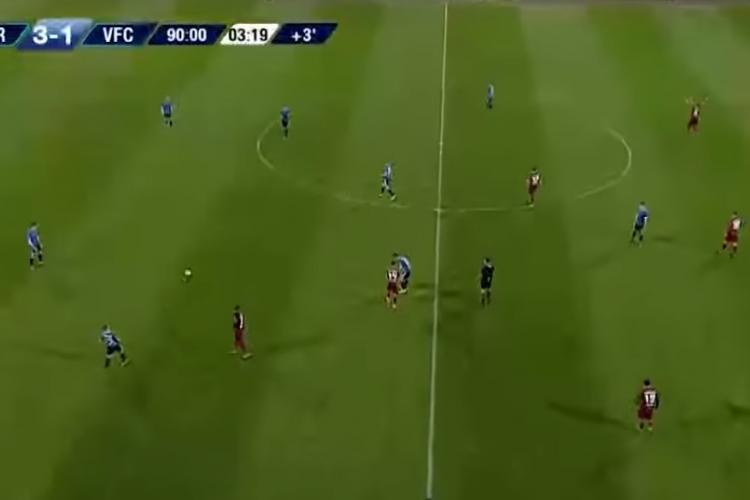 """CFR Cluj a învins-o categoric pe FC Viitorul. Elevii lui Dan Petrescu i-au făcut față """"Regelui"""" Hagi REZUMAT VIDEO"""