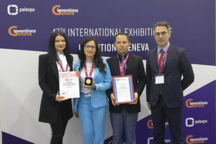 Clujean premiat cu AUR la Târgul Internaţional de Invenţii - Geneva 2019, pentru un Alfabet al Culorilor pentru Nevăzători - VIDEO