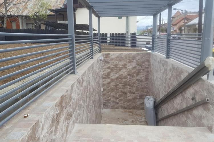 Huedin: WC public de LUX care a costat 120.000 euro! - FOTO