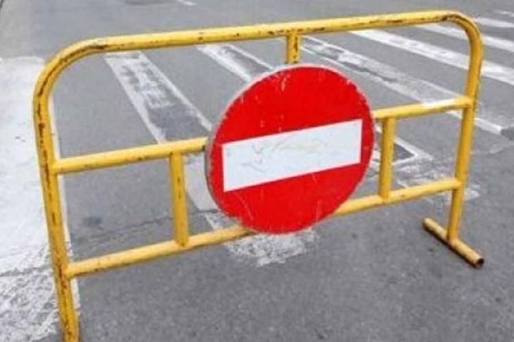 Trafic restricționat în Mărăști. Se lucrează la podul de pe strada Fabricii