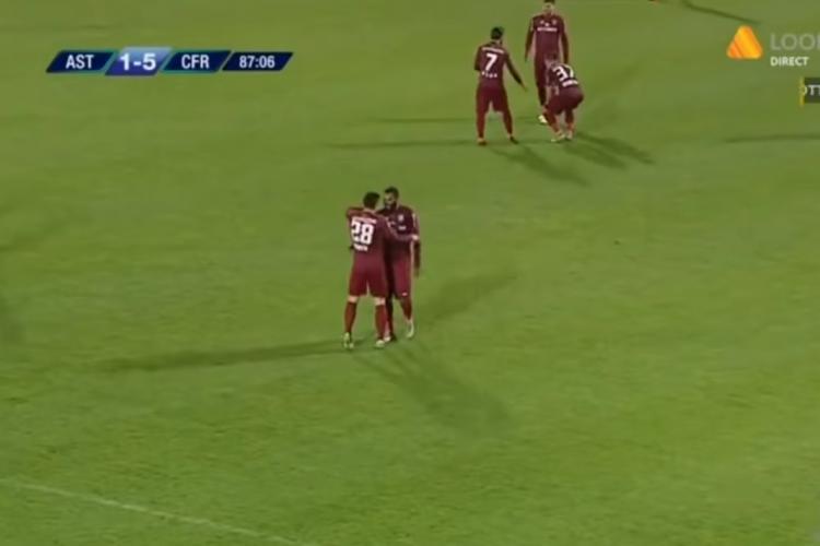 CFR Cluj, victorie fără echivoc cu Astra Giurgiu. I-au învins cu 5-1 REZUMAT VIDEO