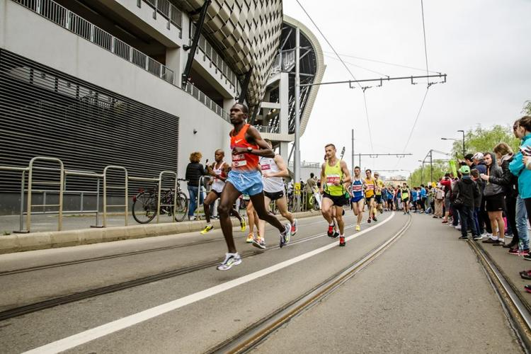 Trasee deviate cu ocazia Maratonului Internațional Cluj-Napoca