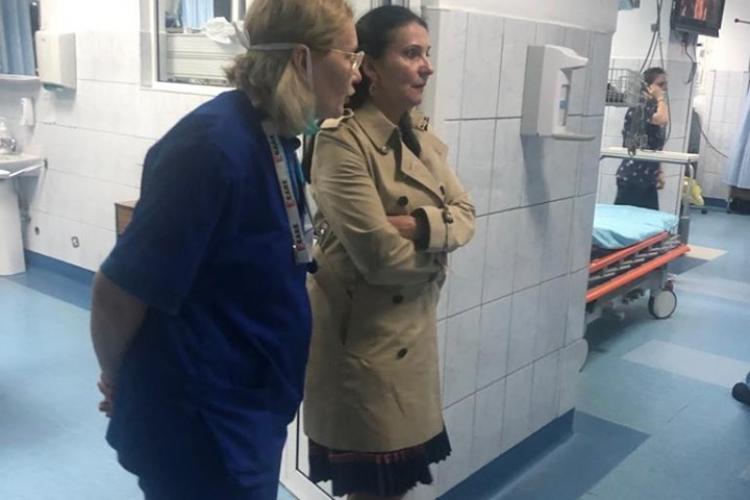 Tișe este în duel cu Ministrul Sănătății, după descinderea la Spitalul Clinic Județean Cluj